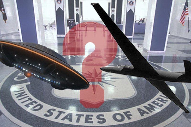 美國中情局(CIA)坦承,半數曾被目擊的幽浮(UFO)其實是U2偵察機。(圖片來源:維基百科,製圖:風傳媒)