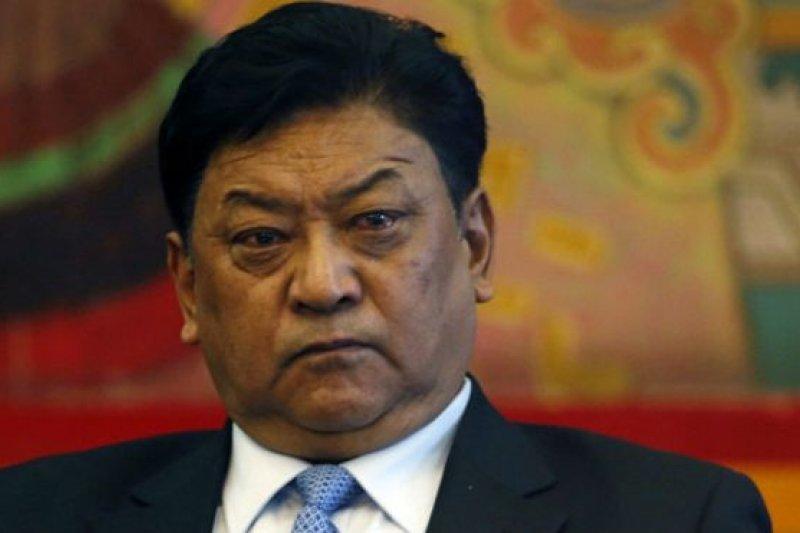 在一年一度的全國人大代表大會期間,西藏自治區主席白瑪赤林譴責達賴喇嘛以及他在這個問題上的各種言論。(BBC中文網)