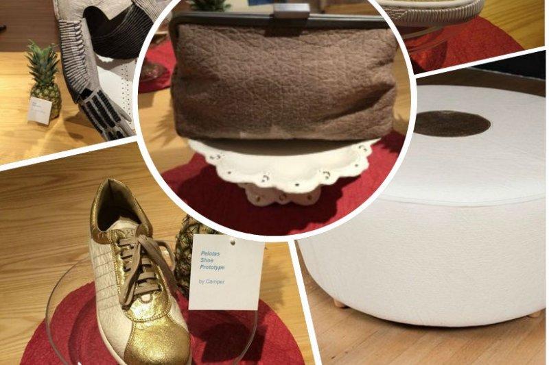 鳳梨皮革柔軟透氣,觸感與實用性,能完全取代牛皮、羊皮。(圖片來源:Piñatex™臉書)
