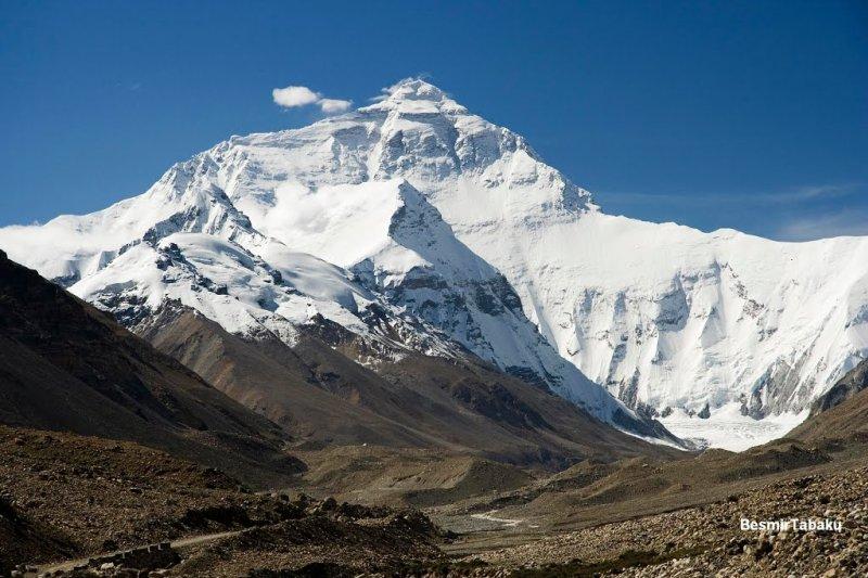 谷歌街景到聖母峰及其周圍地區,大家躺在床上就可以逛巨峰遊天下了。(取自谷歌地圖)