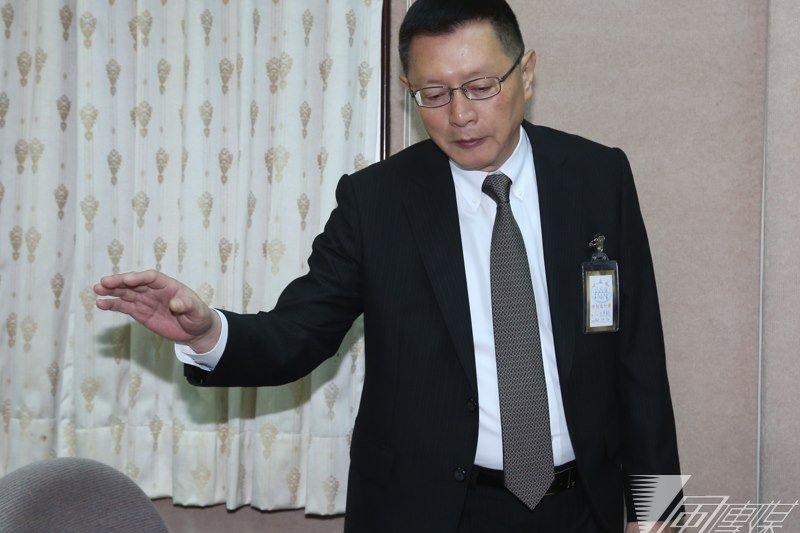自總統馬英九上任,隨後即接任警政署長的王卓鈞,確定在本月20日正式請辭警政署長,由去年1月甫接任警察大學校長的刁建生於25日正式接掌警政署。(余志偉攝)