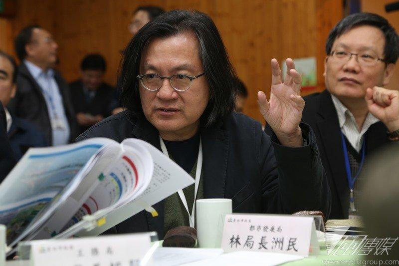 針對廣慈博愛園區未來規畫,台北市都發局長林洲民表示,一定會和附近居民做好溝通。(資料照片,楊子磊攝)