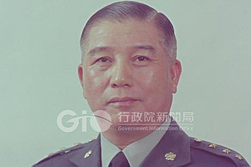 前國防部長蔣仲苓18日於台北榮總病逝,享壽93歲。(資料照片,取自前行政院新聞局網站)