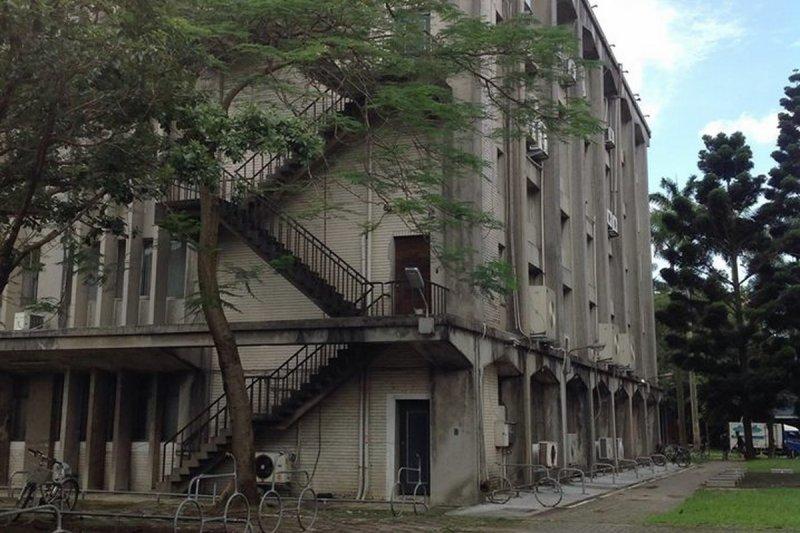 昔日台大研究生圖書館旁,也是陳文成葬身之處。(取自陳文成博士紀念基金會)