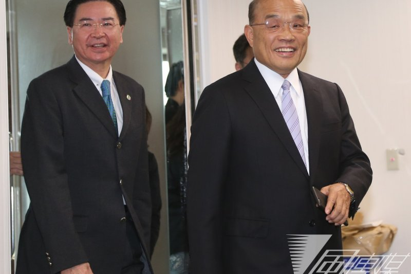 新加坡建國總理李光耀逝世,向來與李光耀有交情的民進黨前主席蘇貞昌將赴星國參加喪禮。(資料照片,吳逸驊攝)