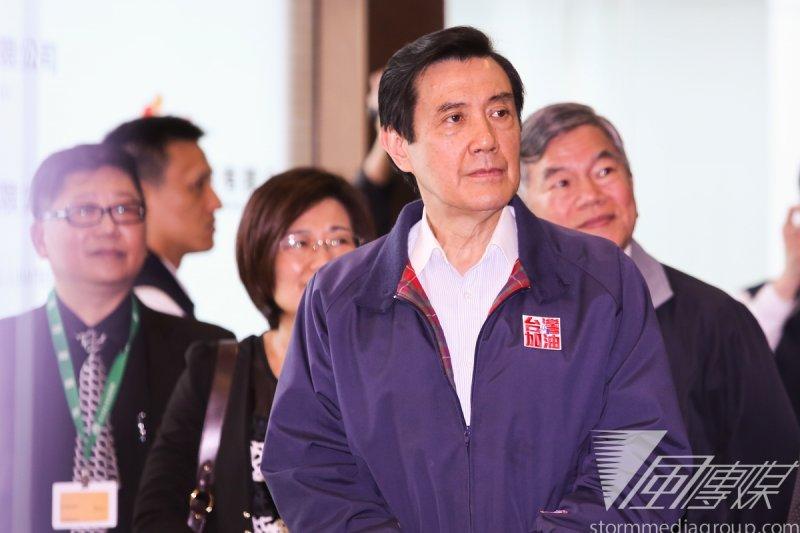 國民黨立院黨團向總統馬英九報告修憲議題,馬英九做出三點指示。(資料照片,林韶安攝)