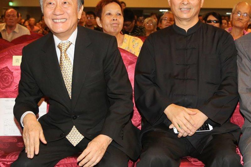 新黨主席郁慕明將率台灣原住民青年代表,前往中國黃陵縣祭拜「軒轅黃帝」而惹議。(余志偉攝)
