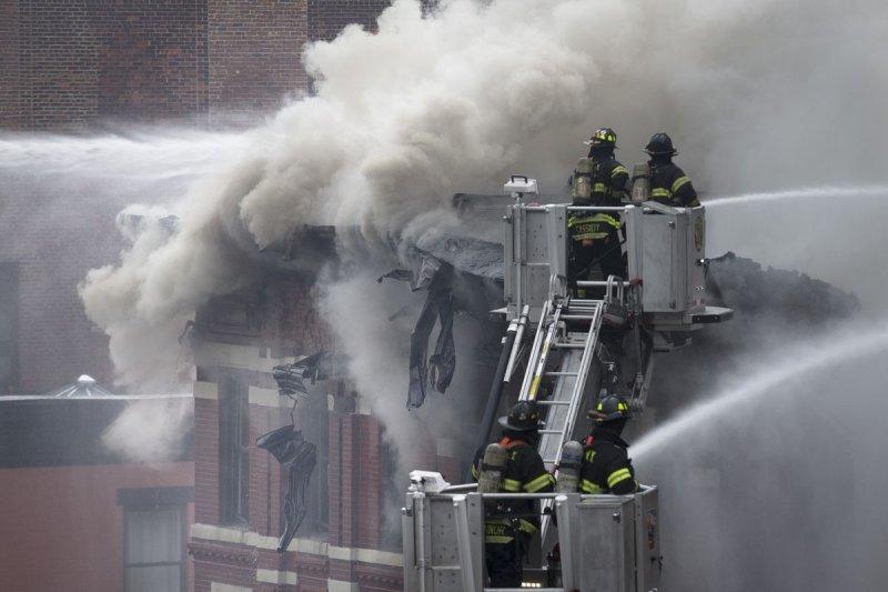 紐約曼哈頓發生瓦斯氣爆,造成19人輕重傷(美聯社)