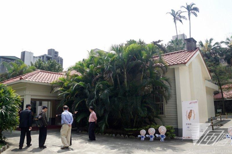 社會企業網實聚落黑客松活動28日開幕,落腳於金華街的前政院院長官邸。(蘇仲泓攝)