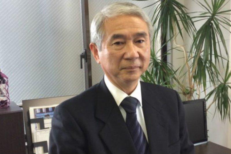 山內敏秀曾是日本海上自衛隊潛艇的艇長