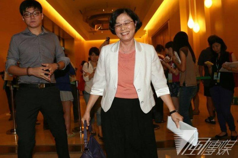 兩岸貨貿談判第10輪會議即將在北京舉行,我方主談人仍是由國貿局長楊珍妮擔任。(資料照片,余志偉攝0