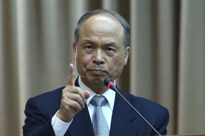 財政部長張盛和表示,目前僅提出加入亞投行的意向,尚未提到名義問題。(資料照,吳逸驊攝)