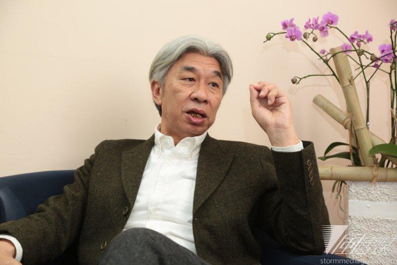 倪重華了解台灣的流行音樂產業問題不是出在Live House,他說,「是音樂結構的問題,產業缺的是創新,內容才是未來。」(余志偉攝)