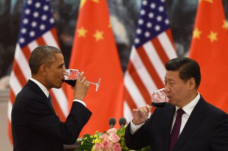 習近平與歐巴馬去年聯合發表氣候變化聯合聲明,中國承受很大的減碳壓力。