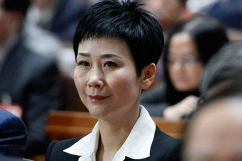 今年54歲的李小琳是中國前國務院總理李鵬的女兒。(新華網)