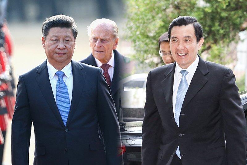 中華民國總統馬英九(林韶安攝)即將於中國國家領導人習近平(美聯社)會面。(風傳媒合成)
