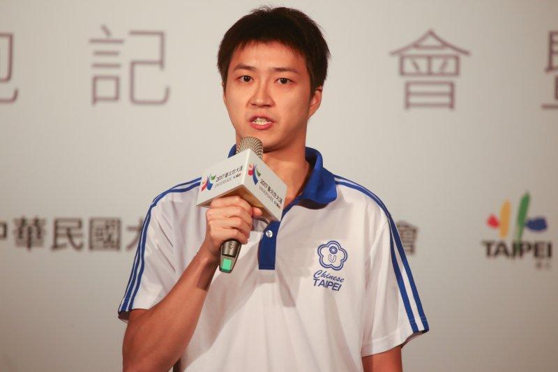 柯文哲號召企業參與台北市大運 桌球金牌選手江宏傑