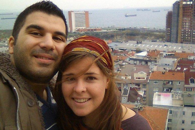 Omar Alkhani and Kayla Mueller FB