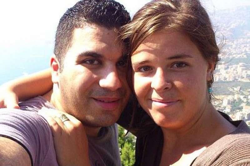 穆勒(Kayla Mueller)與男友阿爾克哈尼(Omar Alkhani)