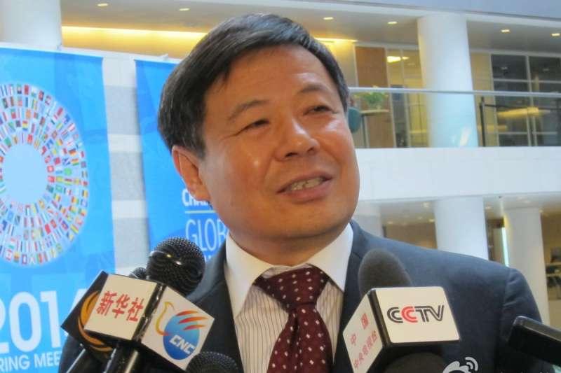 中國財政部副部長朱光耀