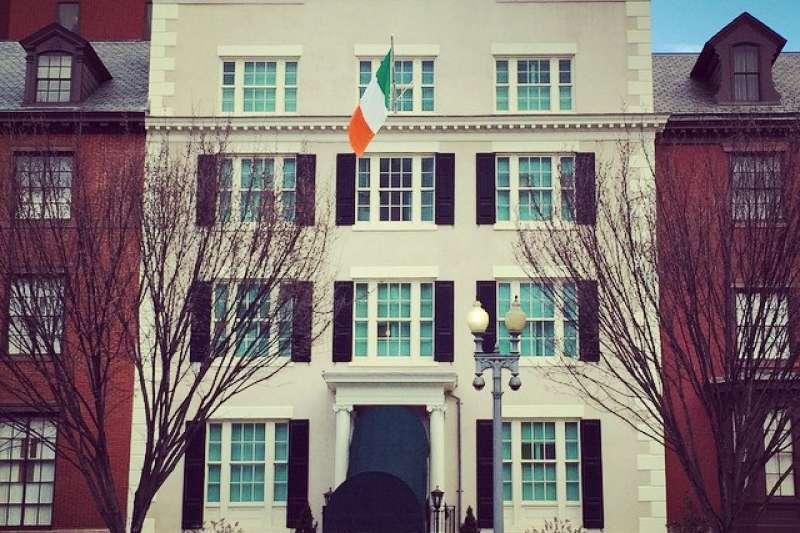 45年前,我們的國旗曾在布萊爾賓館飄揚四天。(圖/@mjb@flickr)