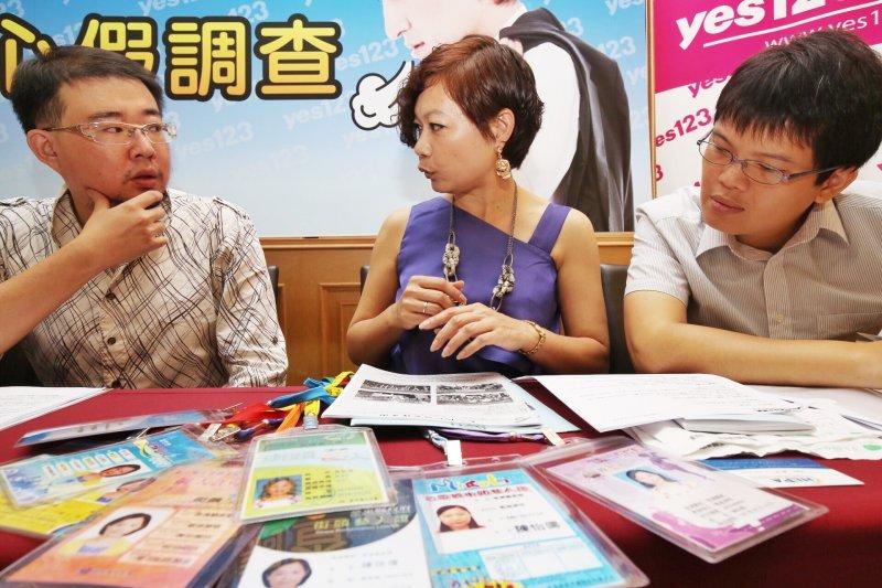 人力銀行針對勞工在無薪假vS無心假所受待遇,邀集多名各行業工作者分享心情(林韶安攝)