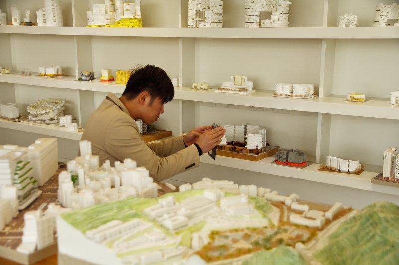 台北市政府公共建築工程展。