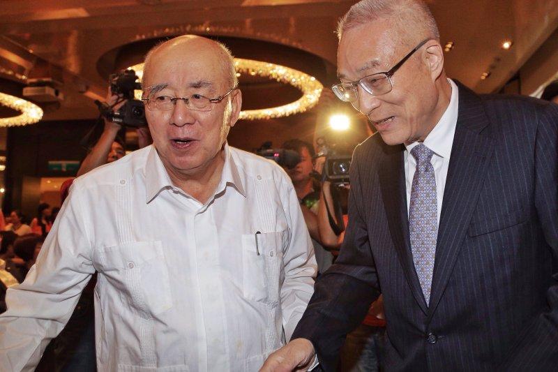 吳敦義、吳伯雄出席肝病防治學術基金會22周年慶祝活動(曾原信攝)