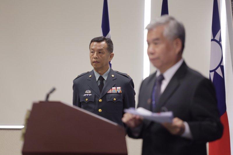 國防部召開記者會說明雄三誤射事件行政調查報告
