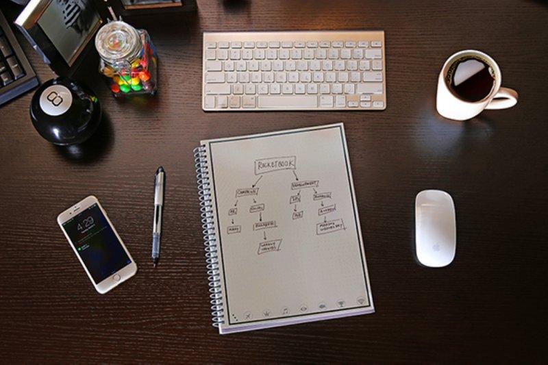 Rocketbook把紙質的筆記本數位化,同時擁有手寫的溫度與數位的便捷。