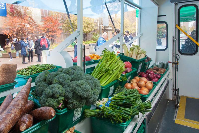各式各樣的新鮮蔬食(圖/ Laura Berman)