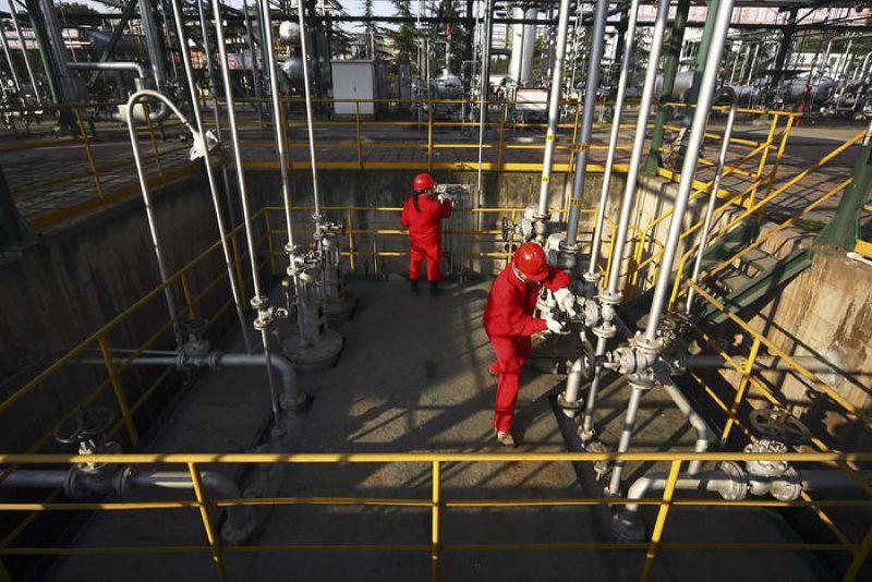 中國與俄國簽訂為期30年的天然氣協定。(美聯社)