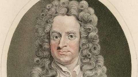 牛頓曾擔任英國皇家鑄幣局長。(取自推特)