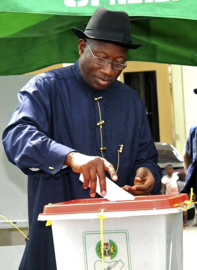 奈及利亞總統喬納森。(美聯社)