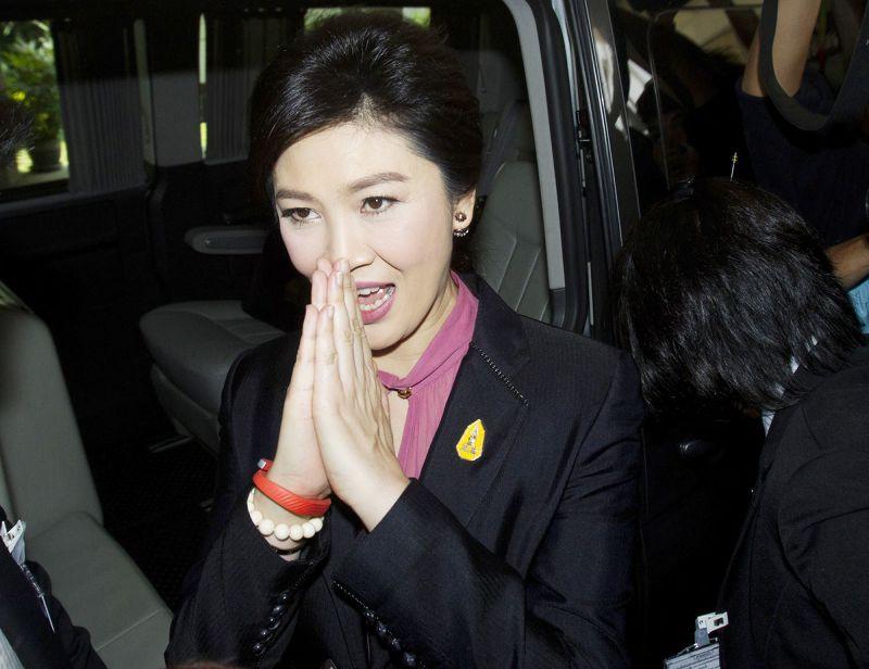 泰國前總理、塔信之妹穎拉(Yingluck Shinawatra)