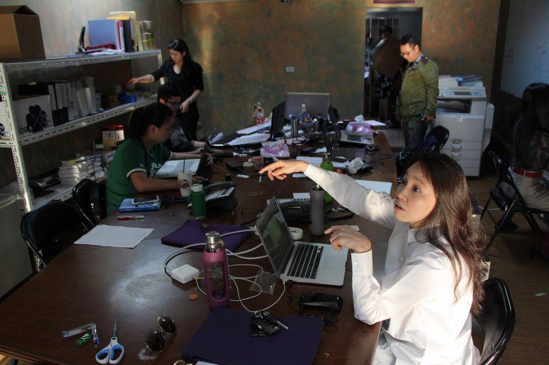 20150329-施明德專訪,圖為施明德的太太陳嘉君。葉信菉攝-EGG-02 (複製).JPG