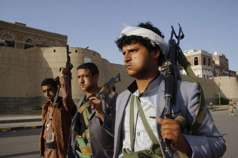 葉門戰亂中的胡塞組織叛軍