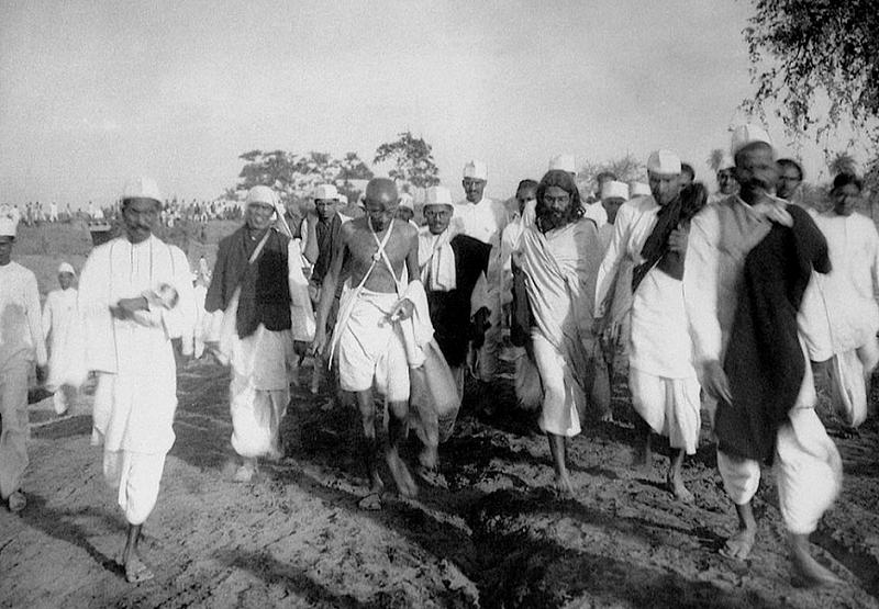 食鹽戰爭中的甘地
