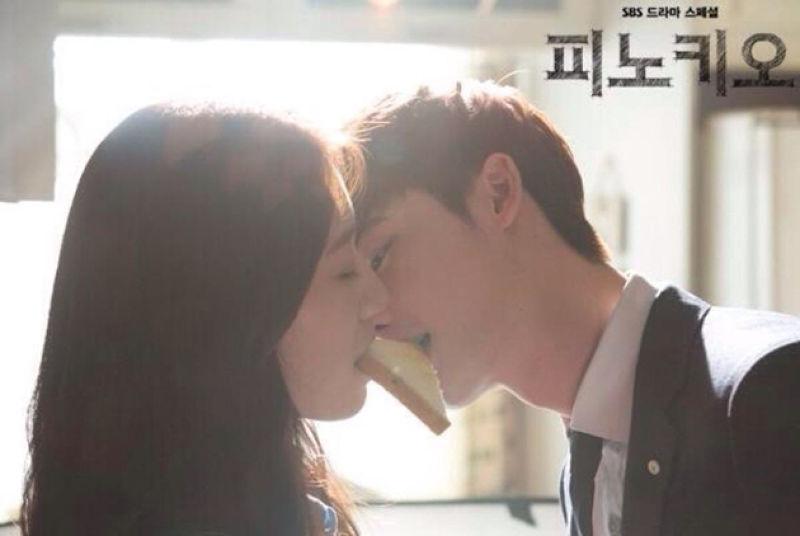 李鐘碩人氣竄升,在韓劇《皮諾丘》中的吐司之吻,更讓粉絲為之瘋狂。(圖/翻攝自網路)
