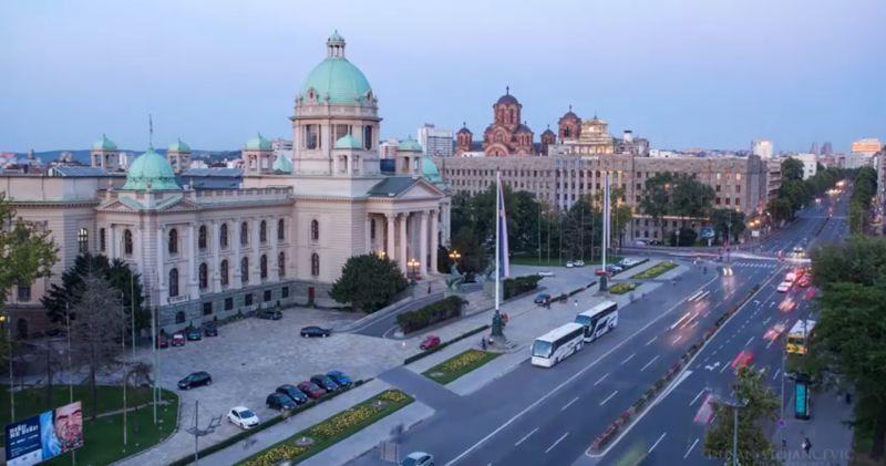 貝爾格勒是塞爾維亞的首都,也是最大都市。(圖/翻攝自YouTube)
