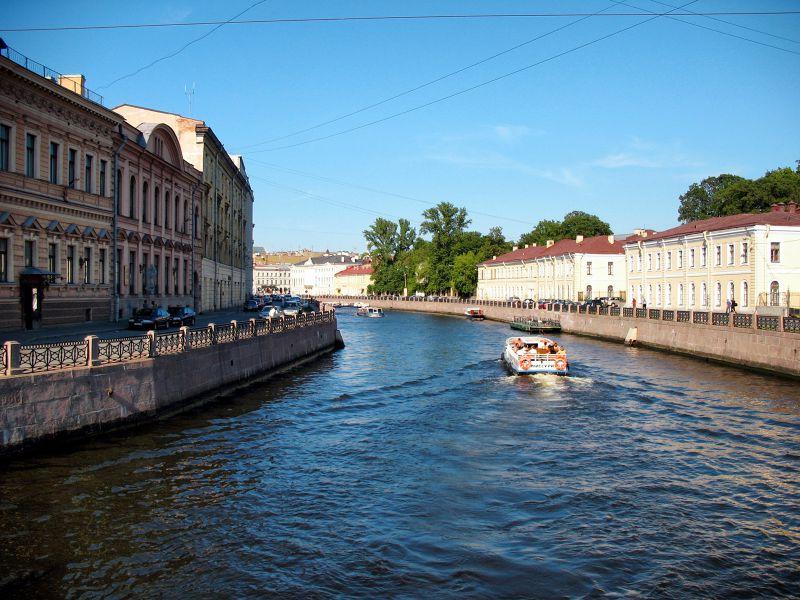 俄羅斯聖彼得堡的運河風光。(圖/Alexxx Malev @Flickr)