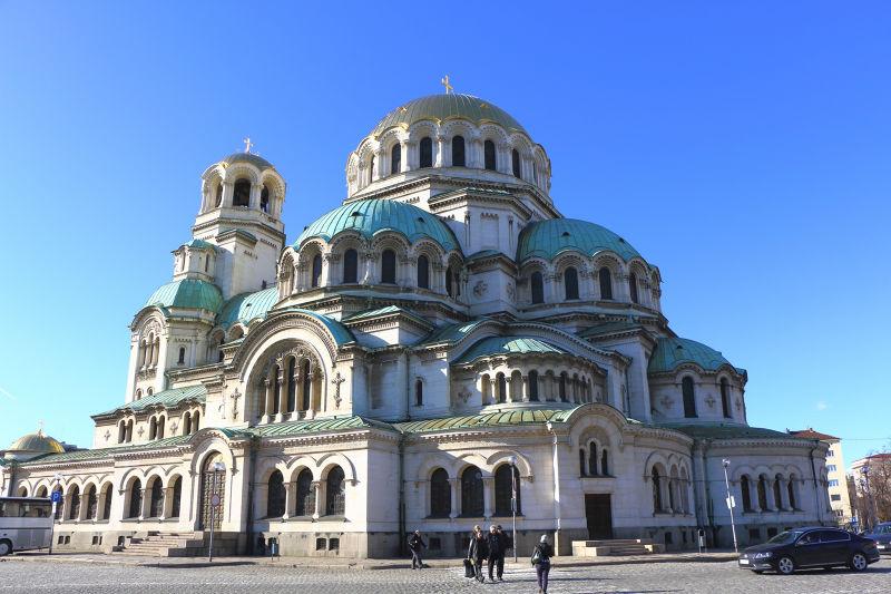 索菲亞的亞歷山大‧涅夫斯基大教堂是巴爾幹半島最大的教堂。(圖/Juan Antonio F. Segal@flickr)