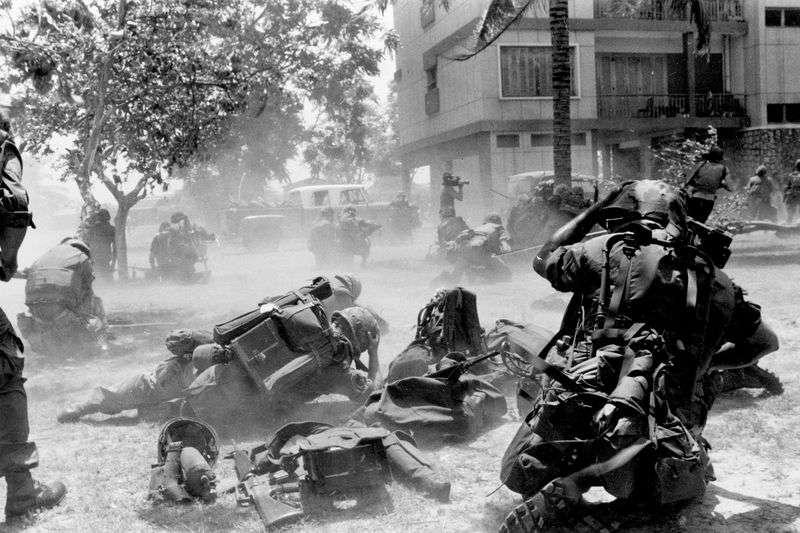 1975年美國駐柬埔寨大使館撤離