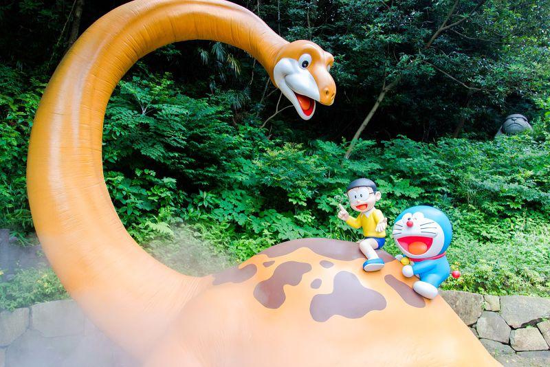 來藤子不二雄博物館就能看到哆啦A夢的更多展示。(圖/ Murphy Chen @Flickr)