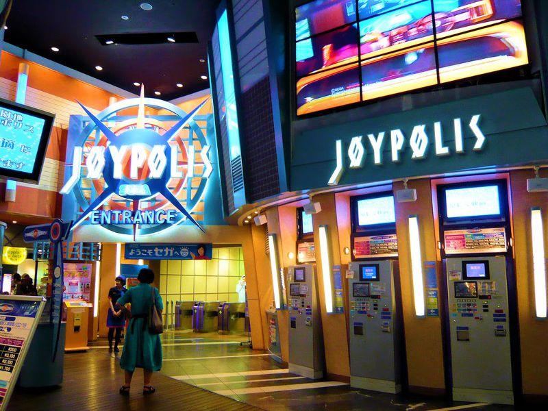 東京JOYPOLIS室內遊戲場,也有各種好玩的設施。(圖/來源)