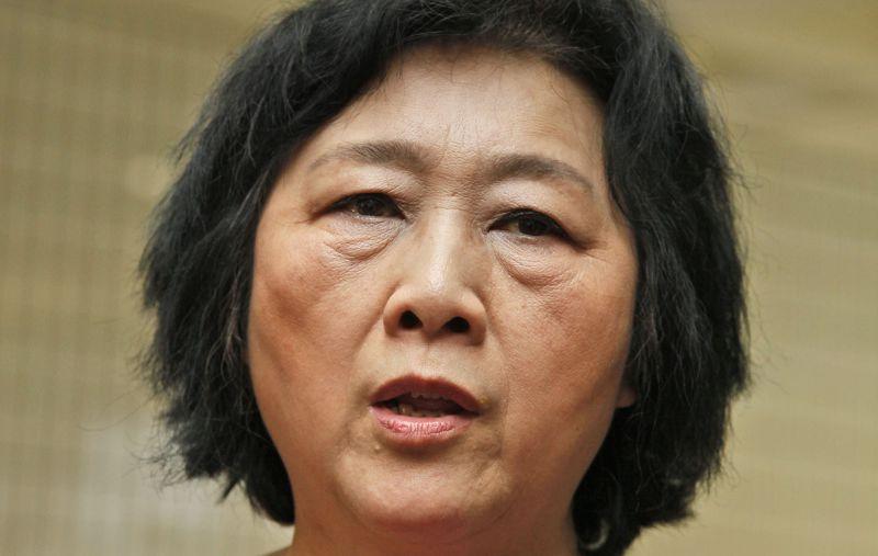 中國記者高瑜。(美聯社)