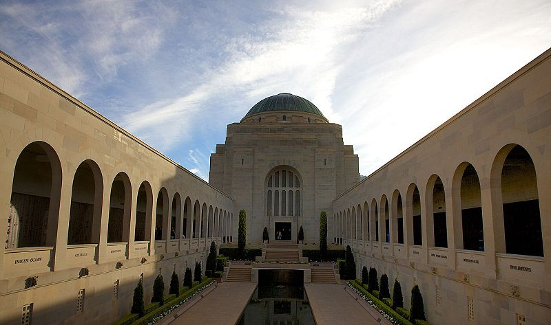 澳洲坎培拉戰爭紀念館( (Magnus Manske/維基百科)