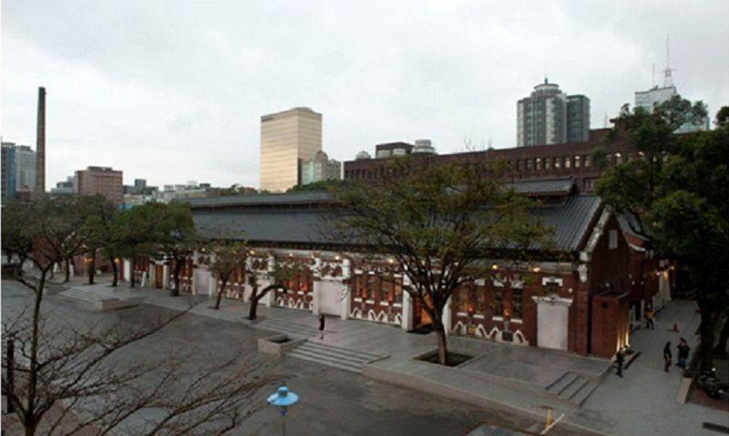 華山文創園區的紅磚六合院。(取自華山官網)