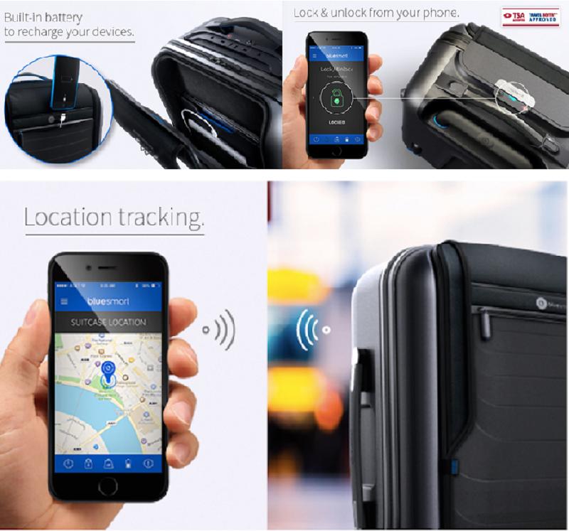 Bluesmart智能行李箱,聰明又有價格競爭力。