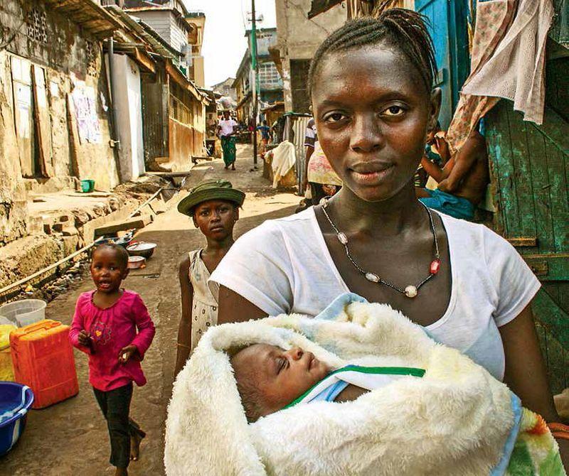 非洲的母親